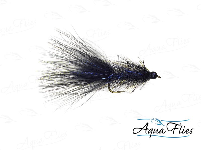 17066 TDF Bead Head Black UV Leech
