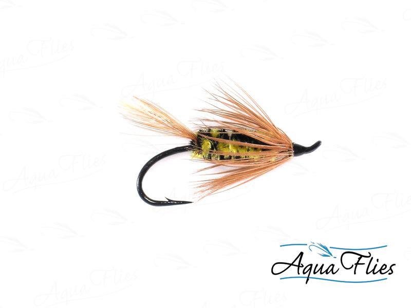 10020 Brindle Bug, Yellow/Black