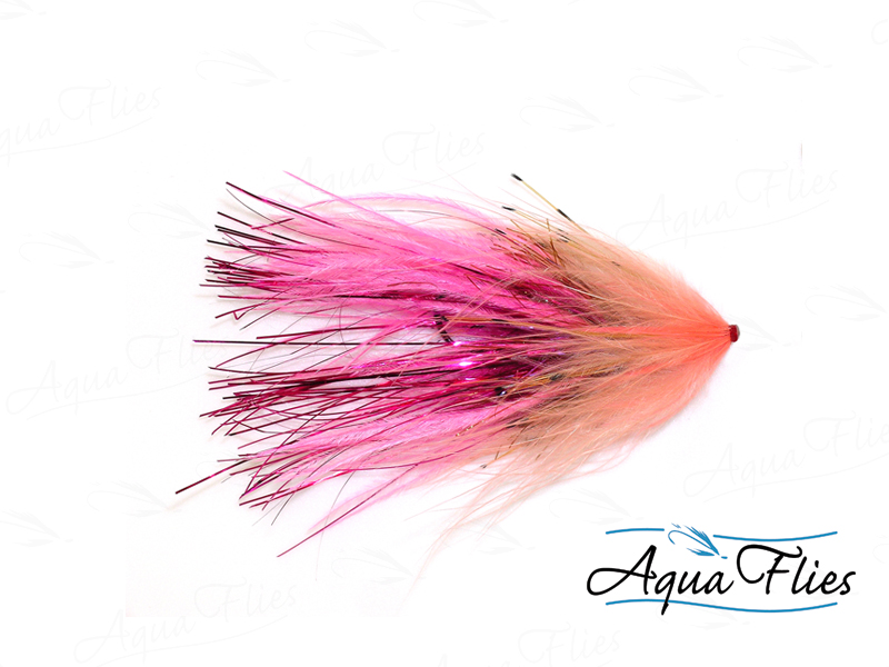 11050 Hartwick's Flashtail Tube, Fuchsia/Shell Pink