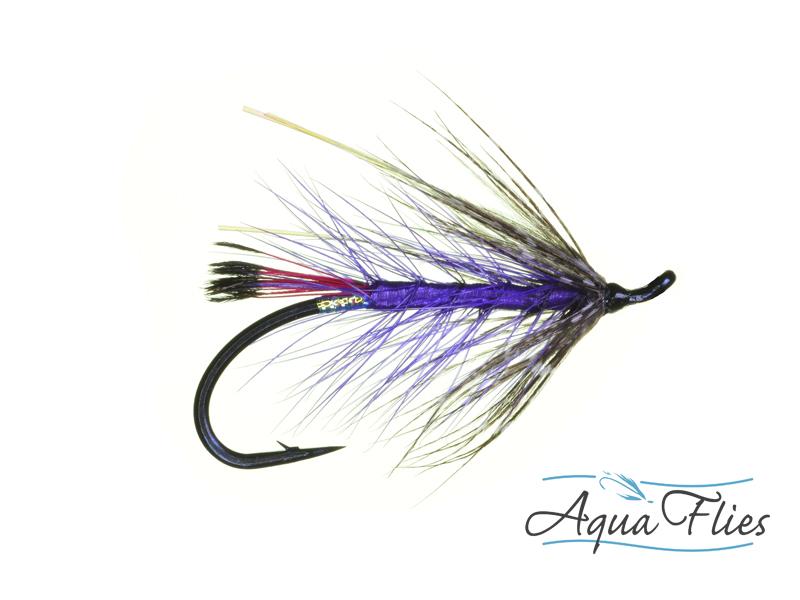 10014 Hartwick's Steelhead Soft Hackle, Purple