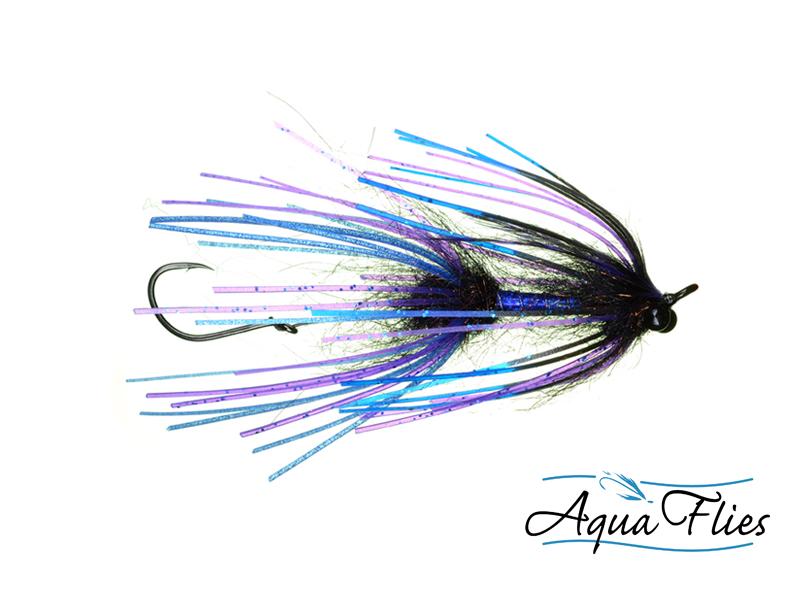 13004 Sili-Leg Intruder, Black/Blue