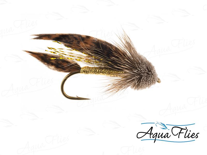 16111 Muddler Minnow, Gold