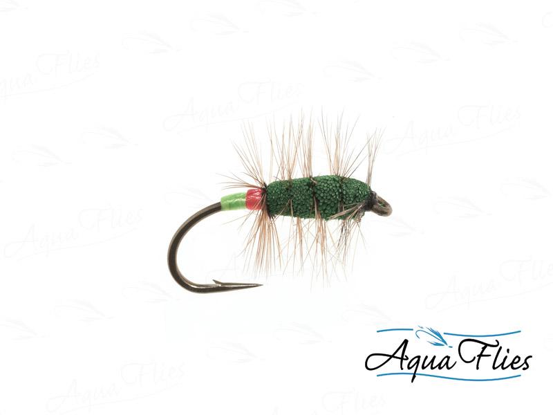16171 Green Machine, Green/Red Butt