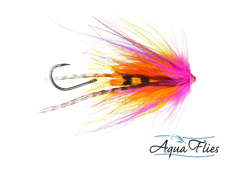 11002 Stu's Griz Turbo Cone, Orange/Pink